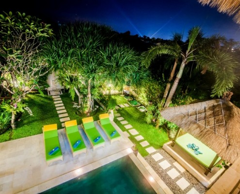 Bali private pool villas