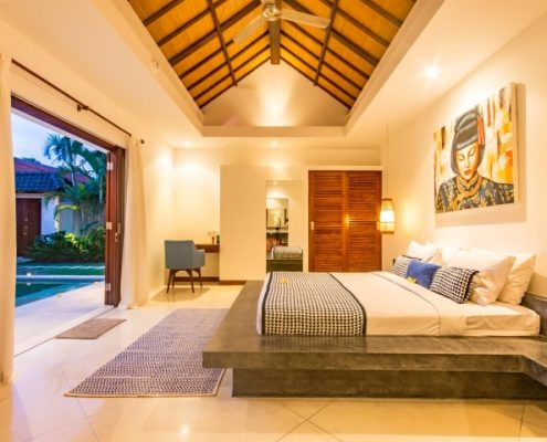 Bali Monthly Rentals - Master Bedroom